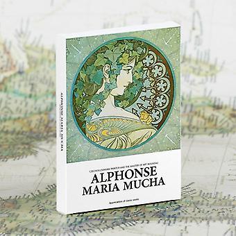 אלפונס מריה Mucha אמנות גלויות, ברכה, כרטיסים, קיר תפאורה