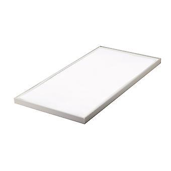 Fan Europe Panel Struttura - Panneau de plafond LED intégré, Blanc