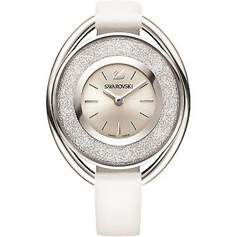 Swarovski 5158548 Crystalline Oval White Ladies Watch