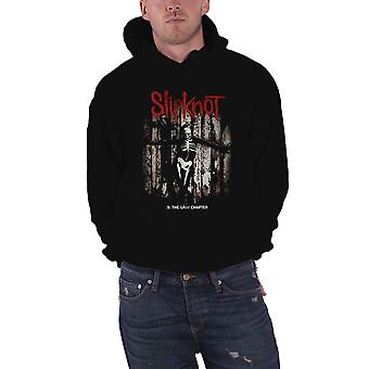 Slipknot Gray Chapter Album Cover Official Mens New Black Pullover Hoodie