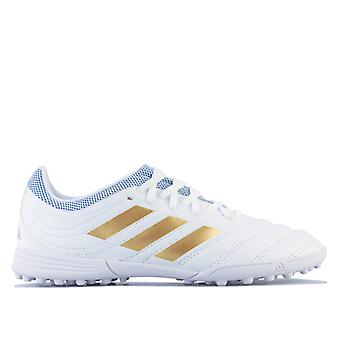 Boy's adidas Junior Copa 19.3 Turf Football Boots in White