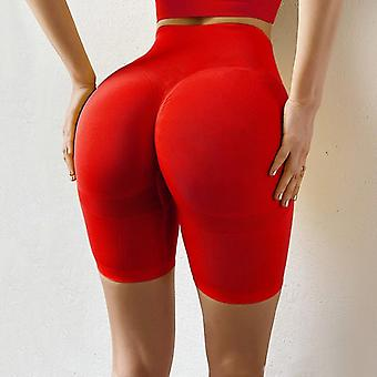 Sports Shorts Women Seamless Push Up Casual High Waist Booty Fitness Workout