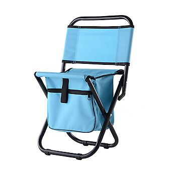 Green Oxford Cloth PVC Waterproof  Steel Pipe Multifunctional Bag Folding Chair