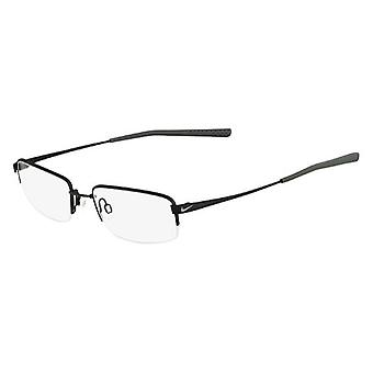 Nike 4192 007 Satin Black Chrome Glasses