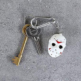 Friday The 13th Head 3D Keyring