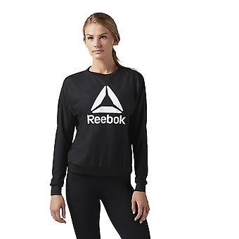 Reebok Workout Ready Activchill Crew Neck CD5957 entraînement toute l'année sweat-shirts femmes