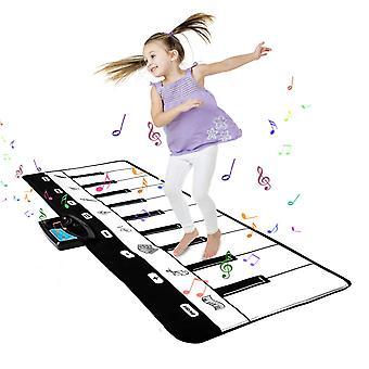 Shayson keyboard playmat-19 keys floor piano mat,best gift for boys & girls