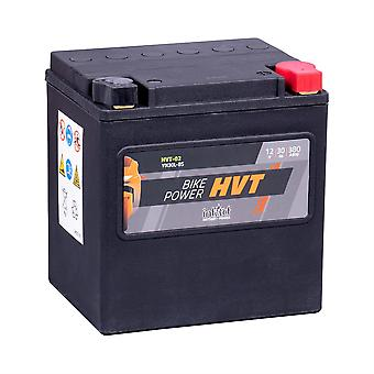 intAct YTX30L-BS / 66010-97A Sealed Activated HVT Bike-Power Battery