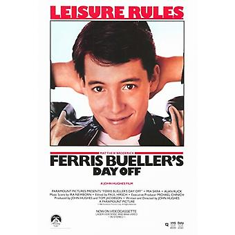 Ferris Buellers Tag Movie Poster (11 x 17)