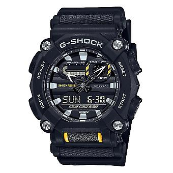 G-Shock Ga-900-1aer Heavy Duty Black & Yellow Mens Watch