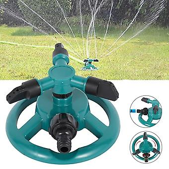 Garden Irrigation Sprinkler Rotating Three-pronged Automatic Irrigation