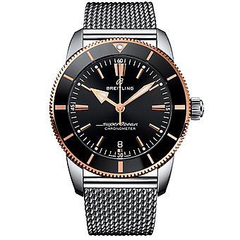 Breitling Men's SuperOcean Heritage II Black Dial Watch - UB2030121B1A1