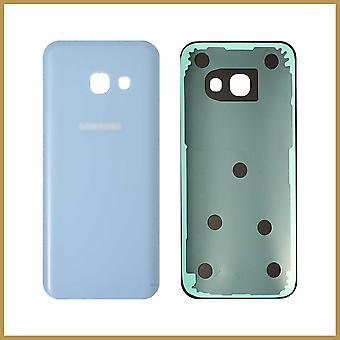 Til Samsung Galaxy A3 2017 A320 Bagcover - Blå