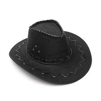 Westliche Frauen Männer's Vintage Cowgirl Cowboys Hut