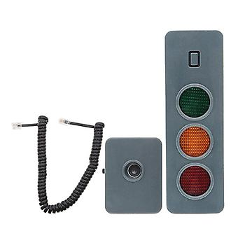 Led Safe-light Parking System Assist Distance Stop-aid Guide Sensor Kit