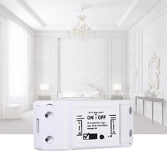 220V 10A वाईफाई स्मार्ट स्विच कंट्रोलर यूनिवर्सल सर्किट ब्रेकर DIY ऑटोमेशन वायरलेस Remot