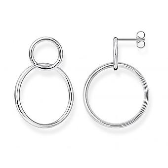 Thomas Sabo Sterling Silver Sterling Silver Circles Earrings H2097-001-21