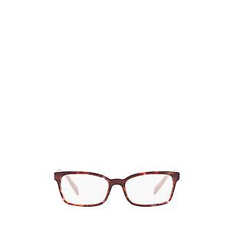 Prada PR 18TV pink havana female eyeglasses
