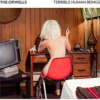Les Orwells - Terrible des êtres humains (Explicit) (import USA vinyle W [Vinyl]