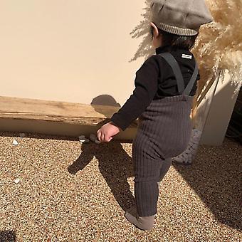 Téli polár megvastagodnak leggings pántokkal a baba / lányok