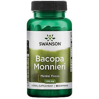 Swanson Baccopa Monieri 250 mg 90 Cápsulas