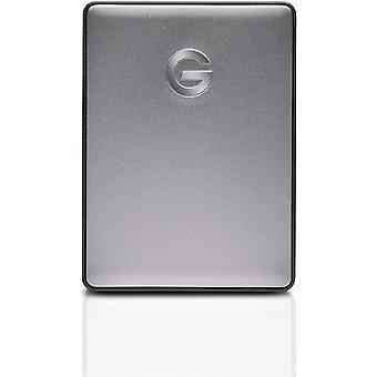 G-Technology G-Drive Mobile USB-C 4 TB (elegantes Aluminium-Design, schnellberes Bertragungsrate 135