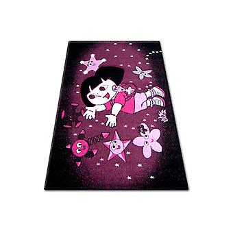 Rug PILLY 7818 DORA - purple/black