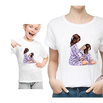 ملابس مطابقة عائلية، تي شيرت للأم والطفل