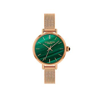 Lola Rose Lr4162 Green Dial Stainless Steel Strap Watch For Women