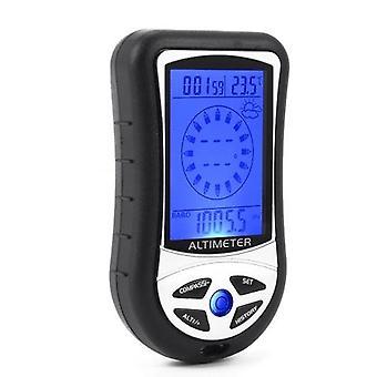8-en-1 Électronique Altimeter Mini Main-hold LCD Altimeter