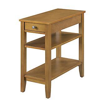 Amerikanisches Erbe Drei-Stufen-Endtisch mit Schublade - R6-230