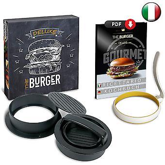 FengChun BURGERPRESSE Burger Pattie Presse eine Hamburgerpresse mit Patty presse Brger presse Mini