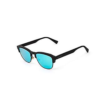 Hawkers Rubber Black Clear Blue NEW CLASSIC sunglasses, TR18 UV400 Glasses, 45 Unisex-Adult