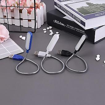 Bärbar Usb Led Mini Bok Läser Ljusbordslampa