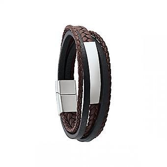 Bracelet Homme Jourdan RC031H - DIAS  - Cuir marron