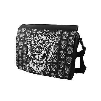 Darkside - ALL SEEING EYE - Messenger Bag - Zwart