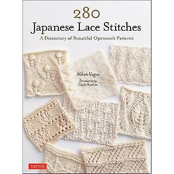 280 Japanese Lace Stitches A Dictionary of Beautiful Openwork Patterns