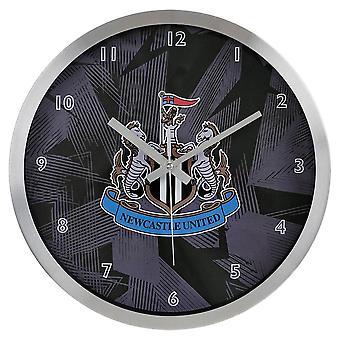 Newcastle United FC Metal Wall Clock