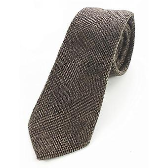Solid Color Cashmere Wool Necktie And Pocket Square Tie Clip Sets