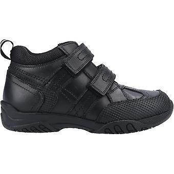 Hush Puppies Boys Jezza Leather School Shoes