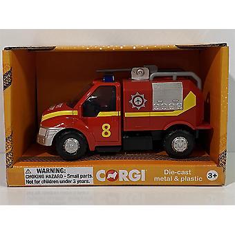 Corgi CHUNKIES CH067 Airport Fire U.K Diecast and Plastic Toy