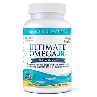 Nordic Naturals Ultimate Omega, 500 mg, Junior 90 ct
