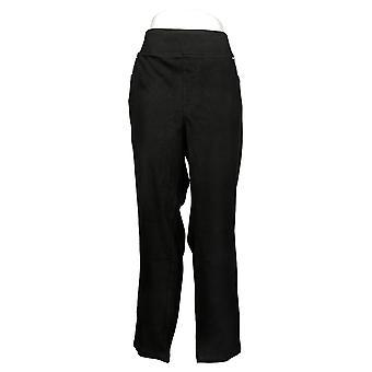 Belle Af Kim Grus Kvinder's Jeans Plus Flexibelle Pull On Black A283921