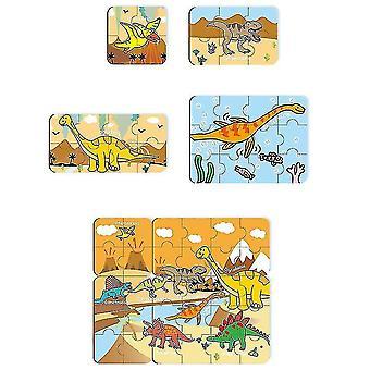 Palapelit lapsille Ikä Värikkäitä puupulmia taaperoille Lapsille Oppiminen Koulutus (GROUP3)