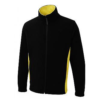 Uneek Two Tone Full Zip Fleece Jacket UC617