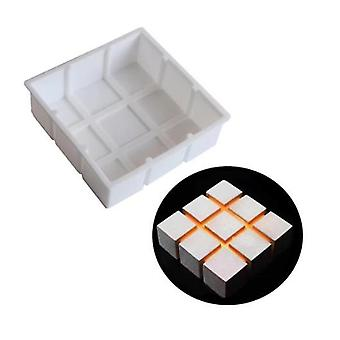 Geometric Silicone Mold Baking Tool For Cake Dessert Muffin