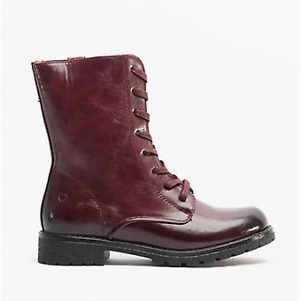 Heavenly Feet Chloe2 Ladies Ankle Boots Wine