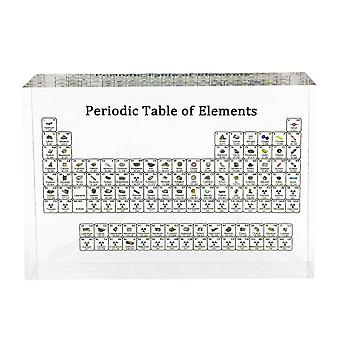 Chemical Element Display Home Decor Acrylic Periodic Table Display With Real Elements Kids Teaching School Day Birthday Gifts