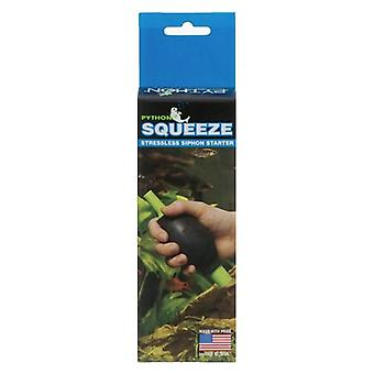"""Python Squeeze Stressless Siphon Starter - 1 Squeeze - (Includes 1/4"""" & 1/2"""" Adapters)"""