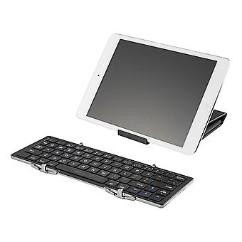 DELTACO Wireless Mini Tastatură , Pliabil, Bluetooth, Negru